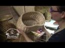 МАСТЕР КЛАСС Плетение кромки на крышке Корзина для рыбака грибника Лозоплетение