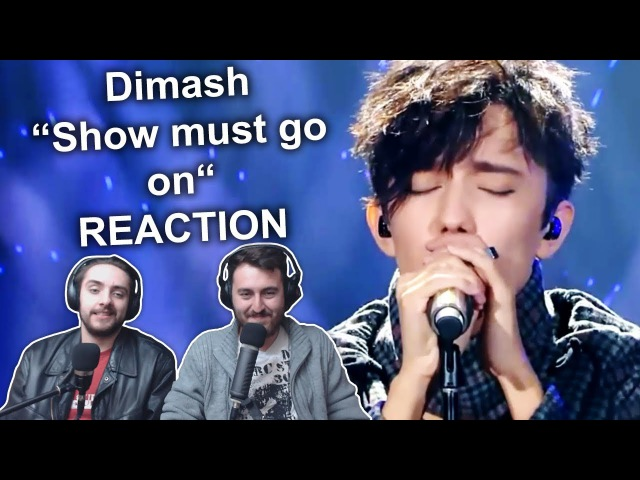Dimash - Show must go on (Ep.3) Singers REACTION