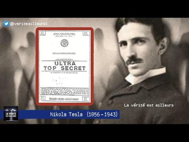 ★ Fuite d'un document TOP SECRET Révélations sur TESLA les OVNIS et les Extraterrestres