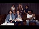 ( Русс. Субтитры) Strangers Things Cast Interview Comic Con 2017 TVLine