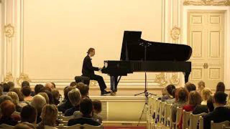 Beethoven. Piano Sonata No.31, Op.110. Alexander Lubyantsev