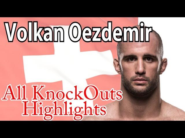 Volkan Oezdemir Highlights KOs UFC