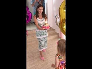 Видеопрезентация с празднования Дня Рождения Беллы Марсо в узком семейном кругу на Кипре