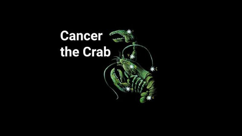 Cancer the Crab Constellation