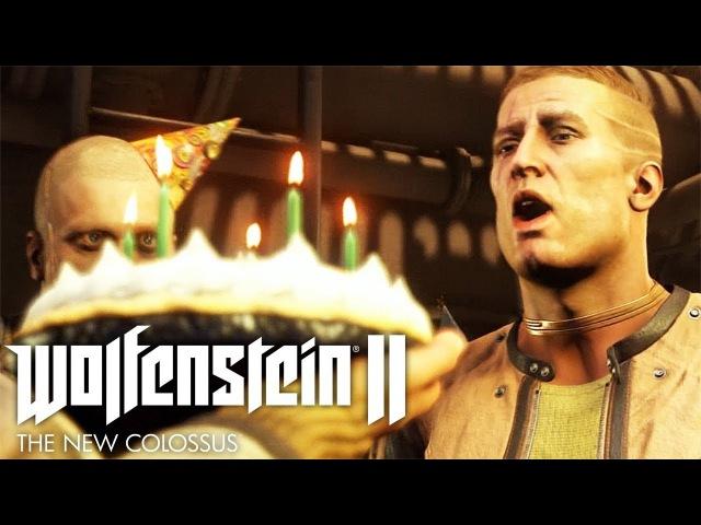ПЬЯНЫЙ УГАР ► Wolfenstein II: The New Colossus 8
