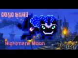 Nightmare MoonPrincess Luna dark NYAN CAT!