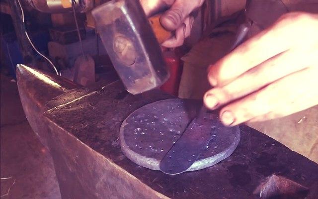 Ковка ламеллярной пластины