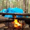 Палаточный лагерь в Лосево