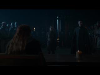 Игра престолов | Game of Thrones (2017). S07E07. 1080p. Amedia Кравец. Отрывок - Казнь лорда Бейлиша (Мизинца)