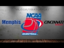 Memphis Tigers vs Cincinnati Bearcats 10 03 2018 AAC Championship Semifinal NCAAM 2017 2018