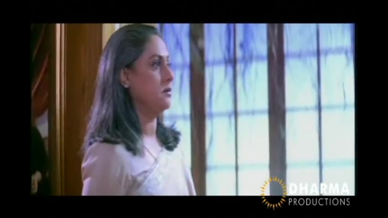 Natural Acting of Jaya Bachchan - Kabhi Khushi Kabhie Gham - Deleted Scene (Part IV)
