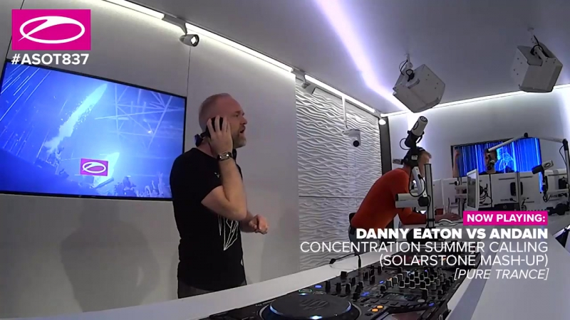 Danny Eaton vs. Andain – Concentration Summer Calling (Solarstone Mashup)
