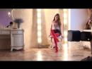 CAMILLE posing in Red Pantyhose: Backstage Outtake. Making of Pantyhose Magazine PRO-KOLGOTKI 2017-10(2)