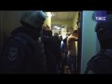 Кадры задержания сторонников ИГ в Москве