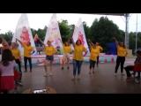 Вожатский танец в ДОЛ им. Лизы Чайкиной. 1 смена, 2017 год