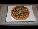 ВКУСНЕЙШИЙ УЖИН для всей семьи Пицца на Курином Тесте без муки. Конкурс. Pizza Without Dough