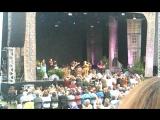 Начало концерта Blackmore's Night в Кальве