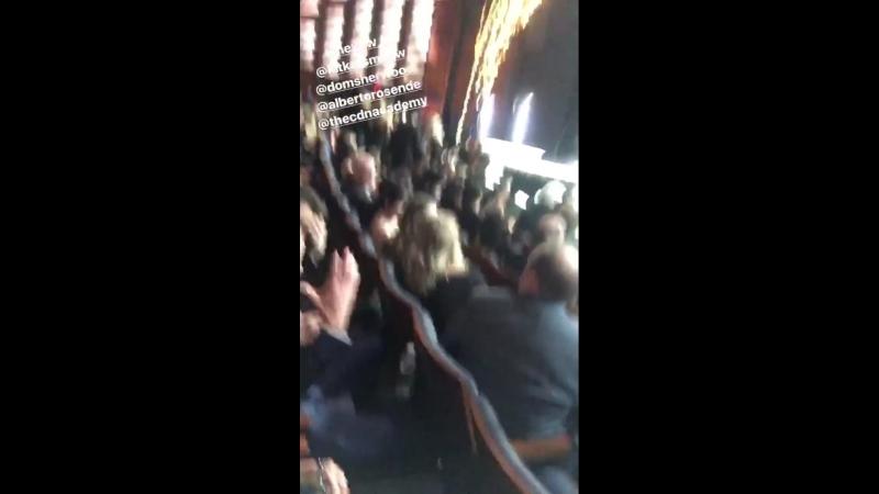 Джейд, Альберто, Кэтрин и Дом на «Canadian Screen Awards Broadcast Gala»