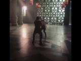 Behind the scenes of the ShadowhuntersSeason3 premiere.