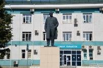 25 августа 2017 - Памятник Ленину у предприятия СИБУР в Тольятти