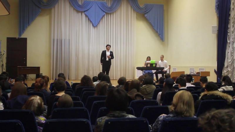 Концерт студентов Айрата Имашева