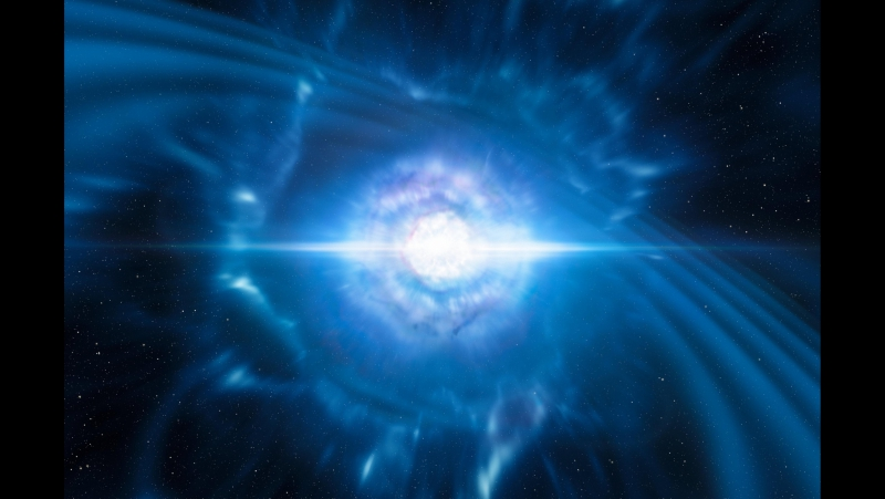 ESOcast 133 ESO Telescopes Observe First Light from Gravitational Wave Source