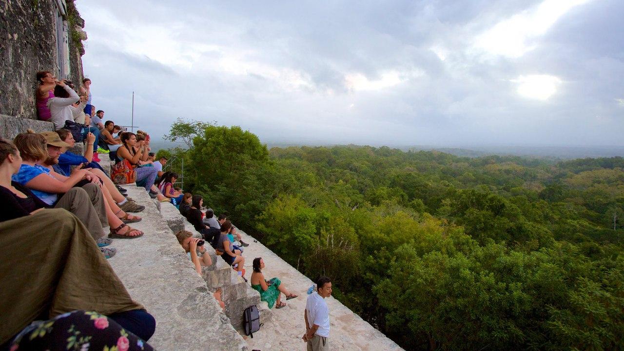 Тикаль — одно из крупнейших городищ майя, столица Мутульского царства.
