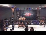 Takashi Yoshida, El Lindaman, Punch Tominaga vs Masato Yoshino, Big R Shimizu, Ben-K (Dragon Gate - King of Gate 2017 - Finals)
