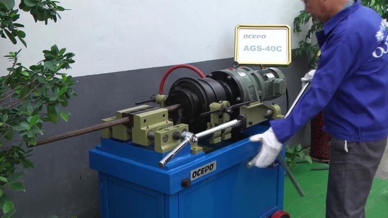 AGS-40C Rebar Thread Rolling Machine (Резиновая прокатная машина)