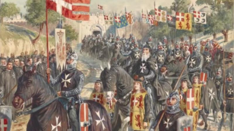 Альбигойские войны, падение Монсегюра (радиопостановка)