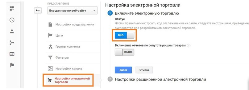 8bld5oYJACA Google Analytics ( Электронная торговля )