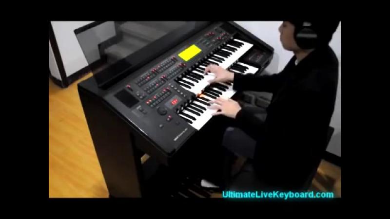 Right Round - Piano - Electone - エレクトーン (Flo Rida ft. Kesha)
