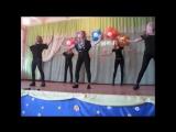 Танец на день учителя на школьной сцене - Michael Jackson - Billy Jean (Remix)
