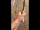 Нож, который сделал сам.