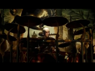 BLIND GUARDIAN - Sacred Worlds (Sacred 2 - In-Game Concert) (OFFICIAL VIDEO)