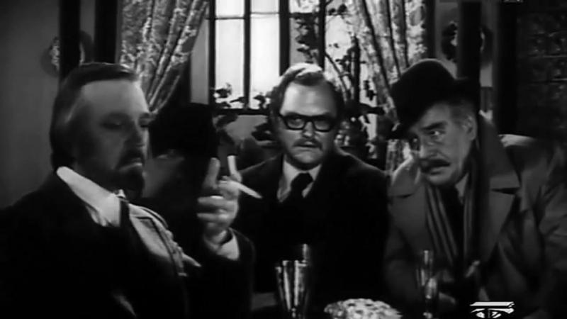 Мегрэ и старая дама 1974 детектив реж Вячеслав Бровкин