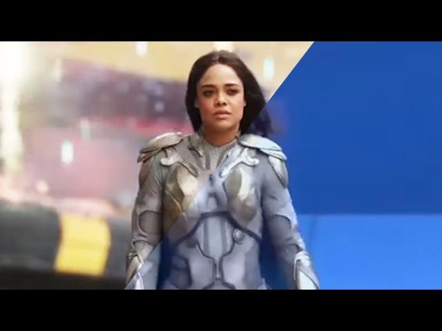 Спецэффекты фильма Тор: Рагнарёк | Кино до и после спецэффектов