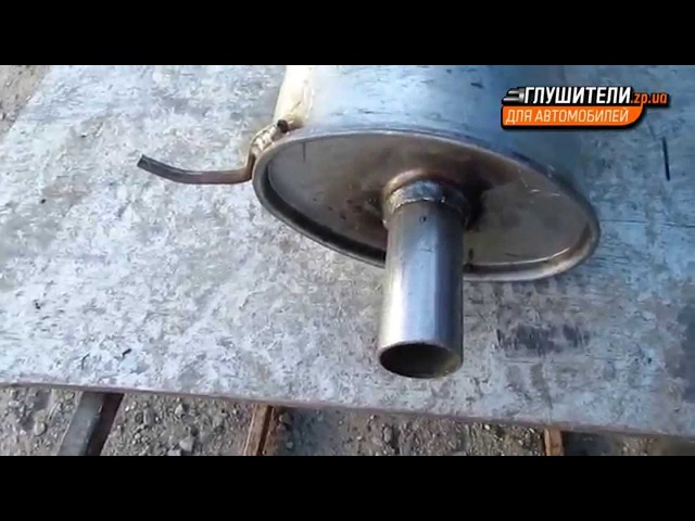 Глушитель ВАЗ 1119 Калина Хетчбек алюминизированный Черновцы Sks