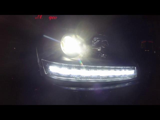 Новый свет на Suzuki Grand Vitara. Биксенон. Светодиодные ходовые огни (ДХО)