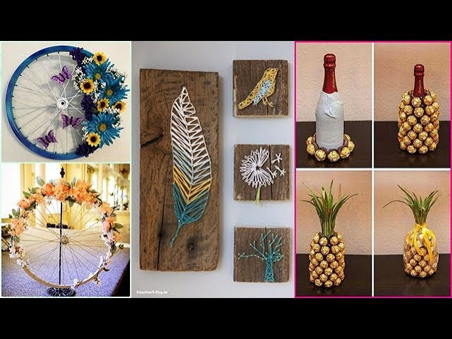 DIY ROOM DECOR! 29 Easy Crafts Ideas at Home for Teenagers