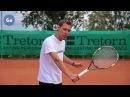 Уверенная игра у сетки в теннисе Часть 7 Секреты удара слева с лета