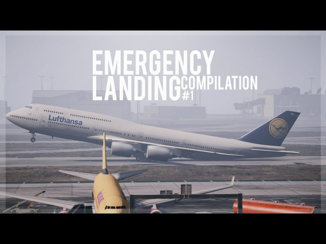 GTA 5 - Emergency Landing Compilation 1 (Engine Failures, Go-Arounds)