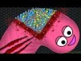Wormate.io 1 Giant Monster Worm vs. 27722 Invasion Worms  Wormateio Best Trolling Gameplay!