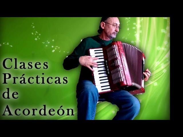Clases de acordeón CLASE 14: Canción Se va la barca en tres tiempos (tutorial)