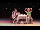 Восточные танцы Дуэт Карлсон и Фреккен бок шоу Гарипова Эвелина и Габдериева Камила