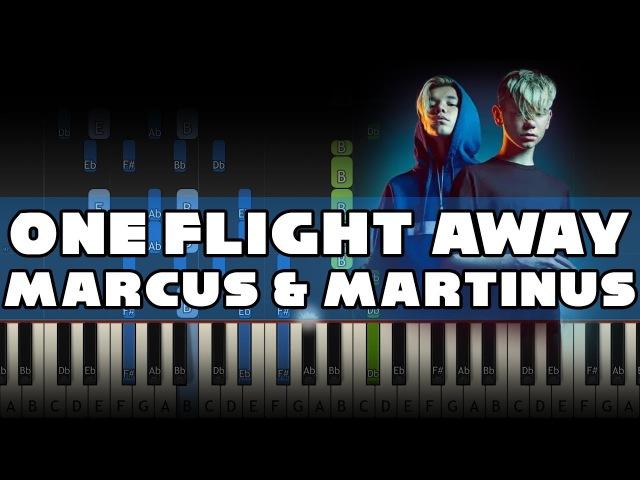 Marcus Martinus - One Flight Away - Piano Tutorial