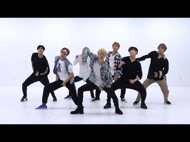 BTS DNA mirrored Dance Practice