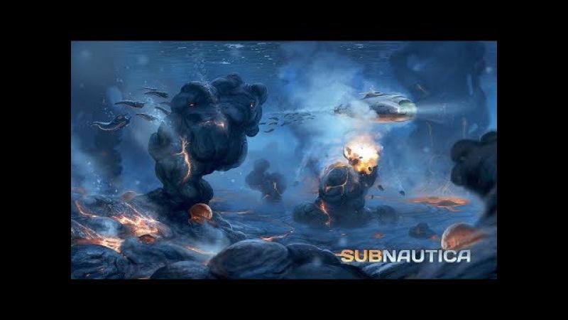 Subnautica. Тестим Лодку и переезд на базу.