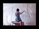 БАРЕЛЬЕФ изюминка интерьера Speed painting wall art