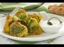 Капуста брокколи в хрустящем кляре без масла. Брокколи с ореховым соусом в Аэрогриле Gfgril.